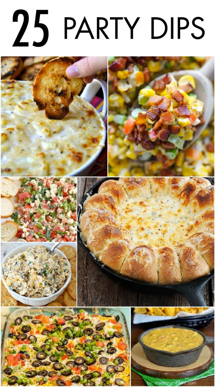 Perfect for any occasion, these 25 Party Dips are sure to be a hit at the appetizer table! Whether they choose cheesy and savory or sweet and delectable, your guests are going to devour these recipes with Town House Crackers.