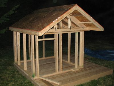 15 best images about club houses on pinterest diy swing for Easy to build playhouse