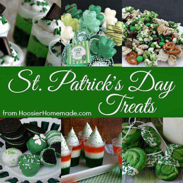 St. Patrick's Day Treats   from HoosierHomemade.com