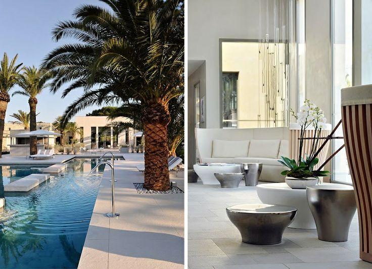 Hotel Sezz, St. Tropez. Design Christophe Pillet