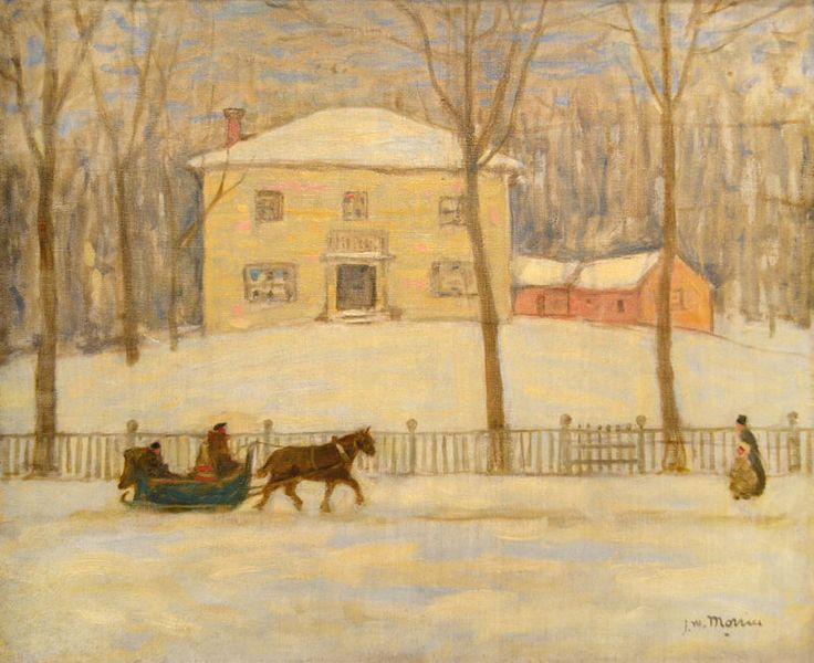La veille maison Holton a Montreal - James Wilson Morrice