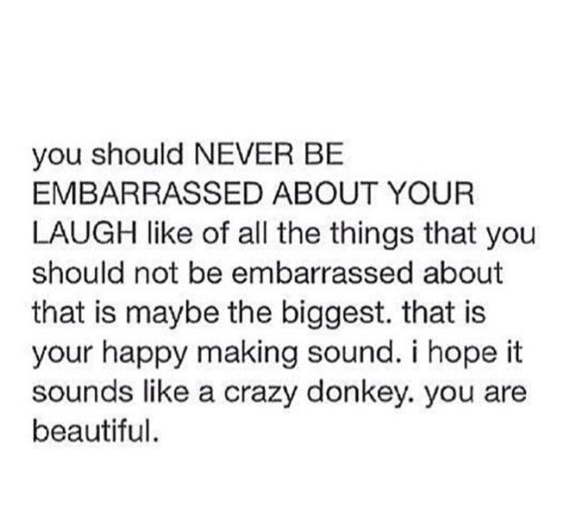 Donkey laugh