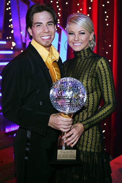 Dancing With the Stars Winners~~~Season Four: Apolo Anton Ohno and Pro Partner Julianne Hough~~~~CLICK for more winners