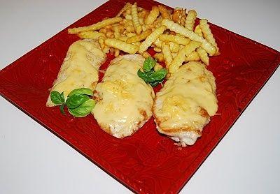 Grillowany kurczak pod serową kołderką