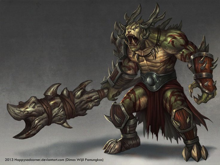 285 best Fantasy: Goblin, Troll, Ogre, and Orcs images on ...