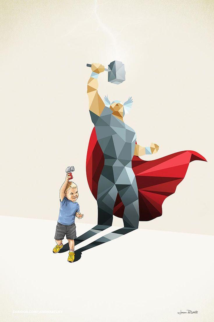 Super Shadows – Quand les super-héros sortent de l'imagination des enfants