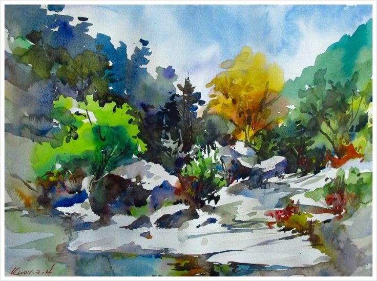 Art Of Watercolor Painting