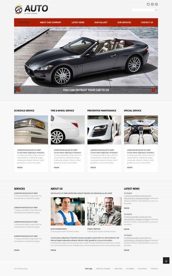 Car Repair Responsive Joomla Template CMS & Blog Templates, Joomla Templates, Cars & Motorcycles, Car Templates, Car Repair Templates