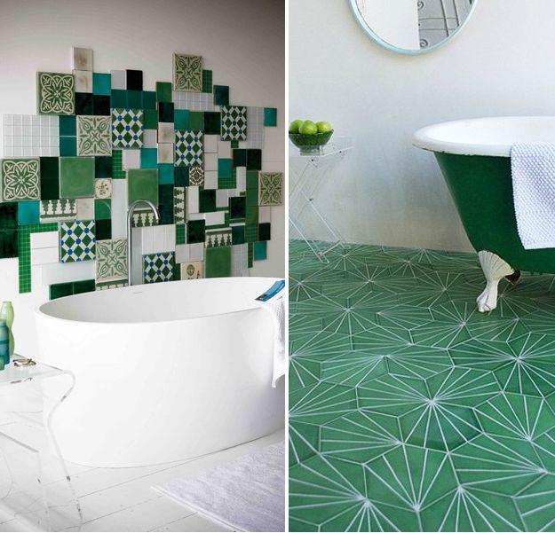 les 25 meilleures id es concernant couleurs de salle de bain verts sur pinterest couleurs bleu. Black Bedroom Furniture Sets. Home Design Ideas