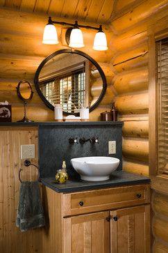 65 best Cabin bathrooms images on Pinterest Cabin bathrooms
