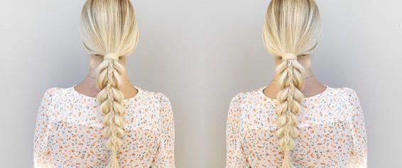 braid hairstyles easy Girls #braidedhairstyles
