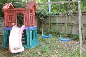 How to Level Ground for a Swing Set