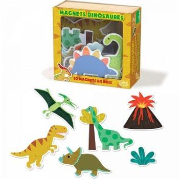VILAC Magnesy drewniane Dinozaury