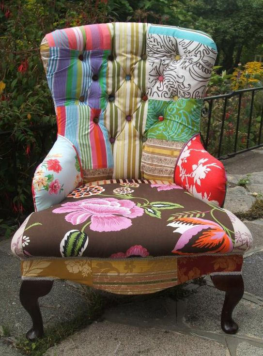 230 best patchwork chair images on pinterest | chairs, armchairs