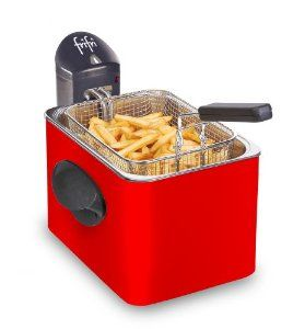 #encore des frites! Friteuse Frifri FI 1905RR rouge - 76,99 € livré le moins cher