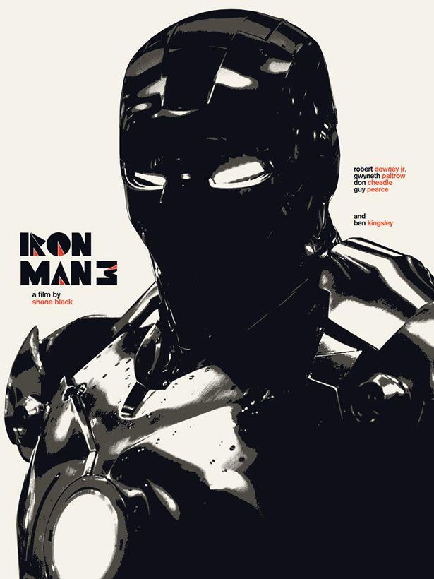 Alternative Iron Man 3 Posters - Design - ShortList Magazine