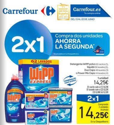 Catálogo Carrefour del 13 al 22 de junio - 2x1 en productos Carrefour -  Folleto con ofertas Carrefour en vigor del 13 al 22 de Junio de 2017 Más de 3000 artículos al 2×1, revisa el catálogo haz una lista y ahorra todo lo que puedas en la lista de la compra. Ver Catálogo    #CatálogosCarrefour, #Catálogosonline #carrefour   Ver en la web : https://ofertassupermercados.es/catalogo-carrefour-del-13-al-22-junio-2x1-productos-carrefour/