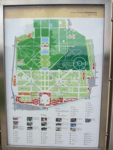 Schronbrunn Palace map