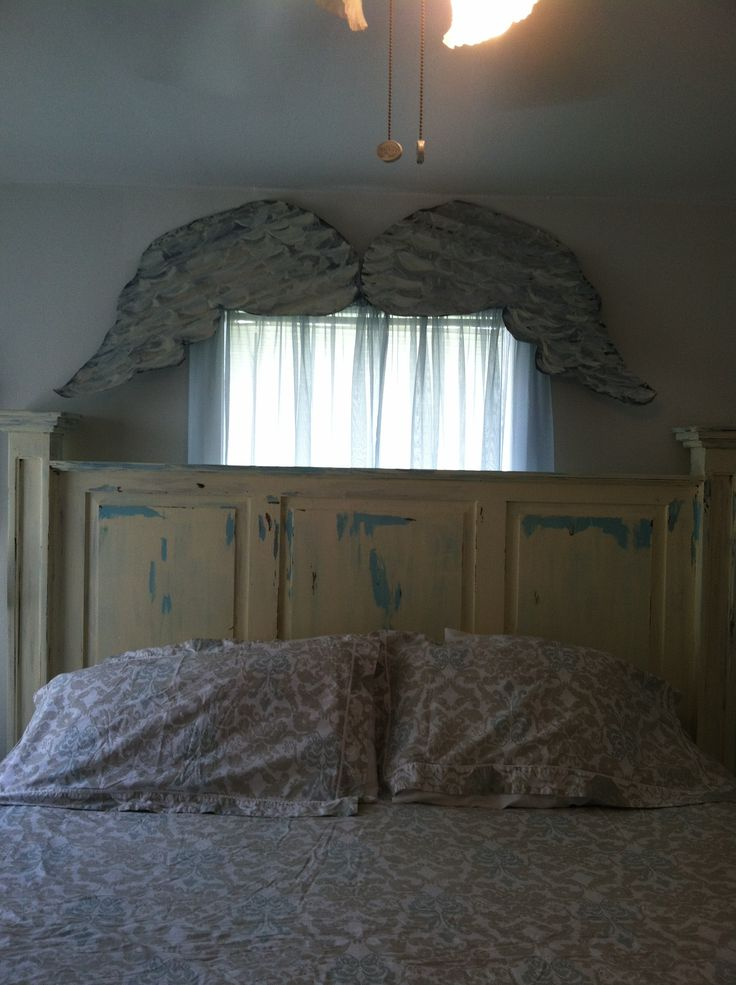 My Junk Gypsy Bedroom . I Cut The Wing Out Of And Old Piece Of Tin