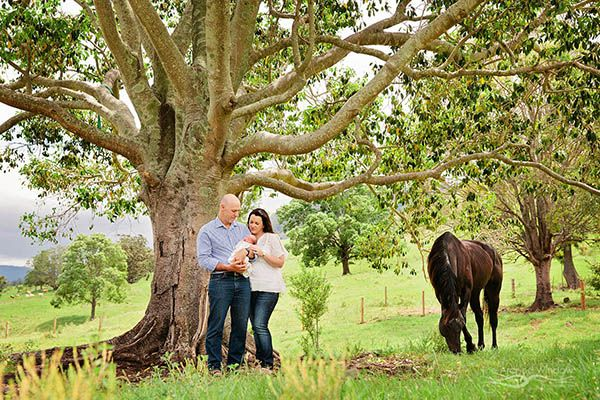 newborn photography country property