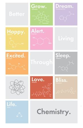 "Better Living Through Chemistry - 11"" x 17"" Poster Print of Original Graphic Design Artwork"