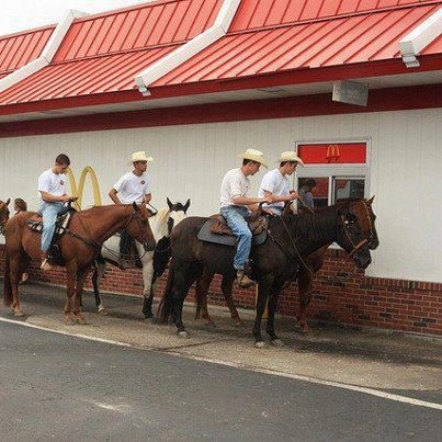 Only in Texas! Actually, looks like Clarksville in Red River County - soon to be my new 'home town' : )