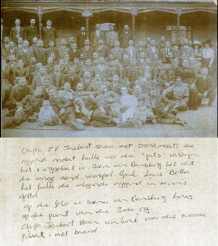 Geni - Photos in Photos from Maritz Rebellie 15 September 1914 - 4 Februarie 1915 JF Joubert - Siener van Rensburg