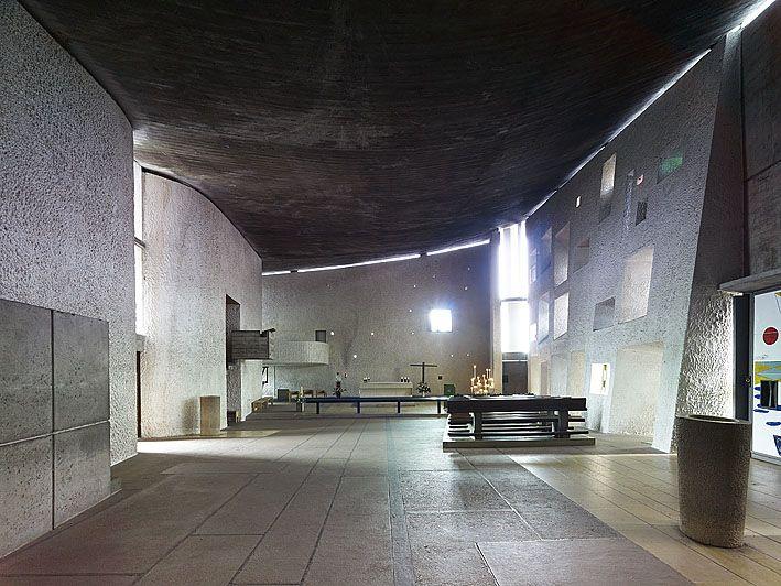 Chapelle Notre-Dame du Haut at Ronchamp by Le Corbusier