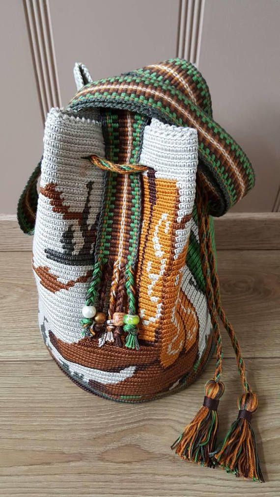Bolso de Mochila Wayuu