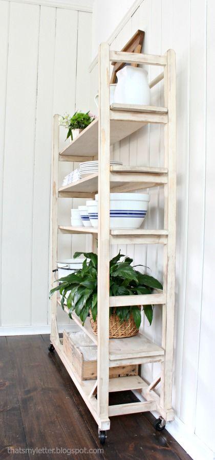 DIY Replica Vintage Shelving Free Plans · Furniture IdeasAna White ...