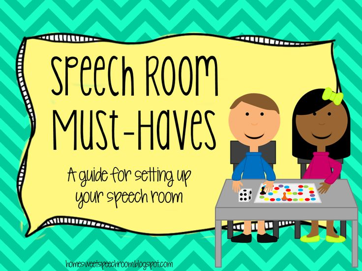 Speech Room Must-Haves: A Guide for Setting Up Your Speech Room