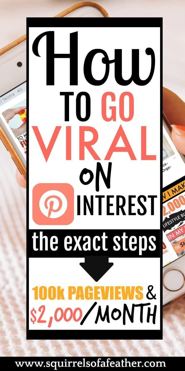 10 Proven Pinterest Tips to Go Viral & Make Money in 2019 – The Laird Chronicles | My Blogging Life | Growing Your Blog | Creative Web Design | Inspiration
