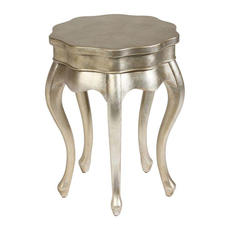 Silver Leaf Five Leg Table