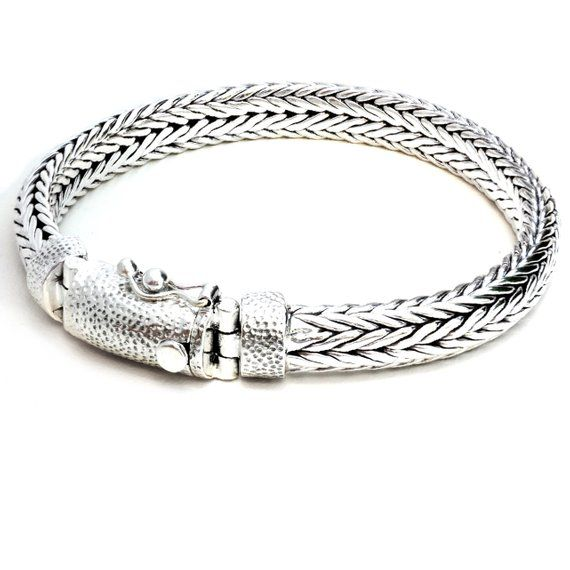 This Item Is Unavailable Silver Braided Bracelet Bracelets For Men Mens Silver Jewelry