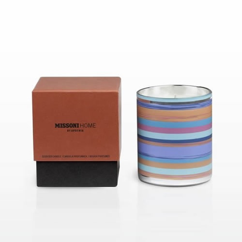 Laguna Candle with Lid or Coaster by Missoni Home