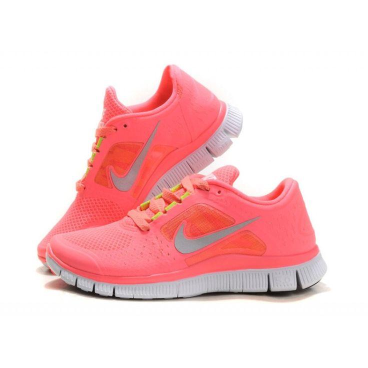 Nike Free Run 3 Néon Rose Acheter