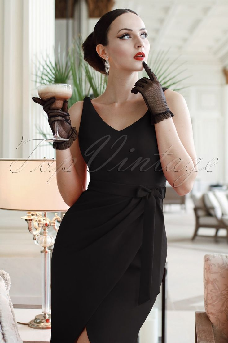 Black dress hollywood - Old Hollywood Dresses 1930s 1940s 1950s