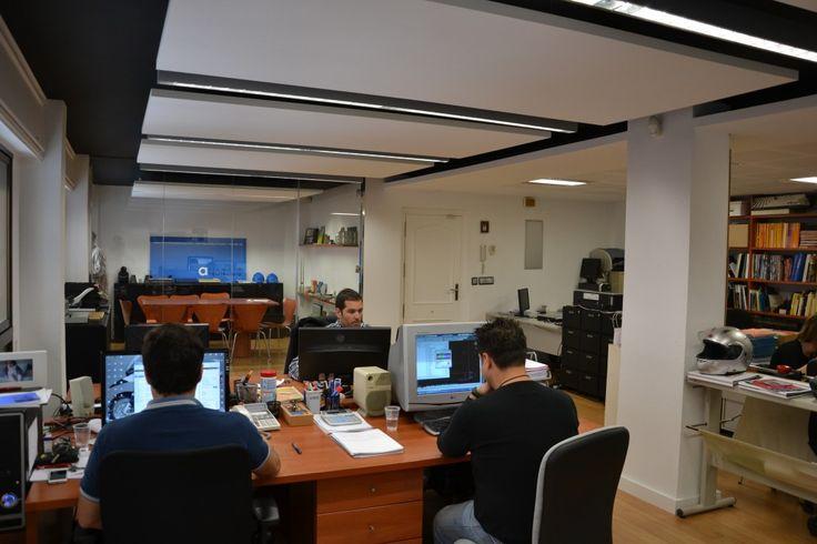 De 32 b sta oficinas estudios bilderna p pinterest - Despachos de arquitectura en barcelona ...