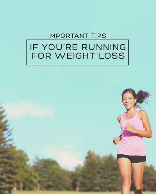 running to lose weight how much