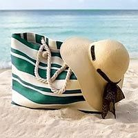 Пляжные сумки своими руками с выкройками