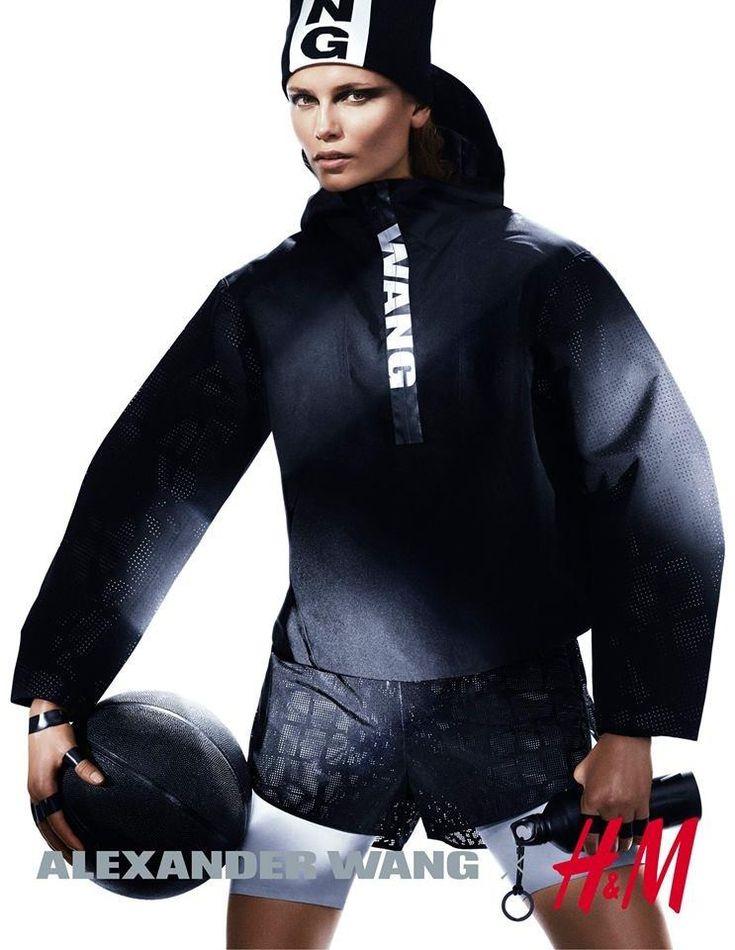 H & M e Alexander Wang | Natasha Poly por Mikael Jansson [Campaign]