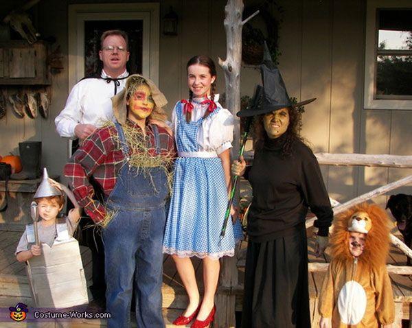 25 best images about disfraces en familia on pinterest - Disfraces halloween caseros ...