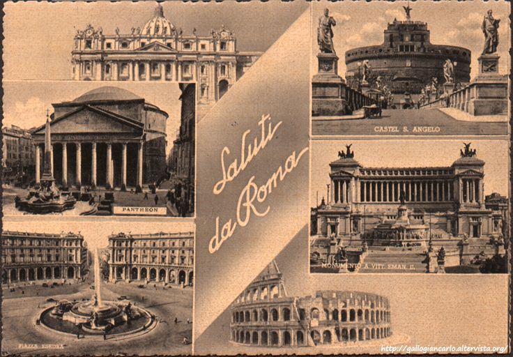 Cartoline da collezione Cartolina_Roma