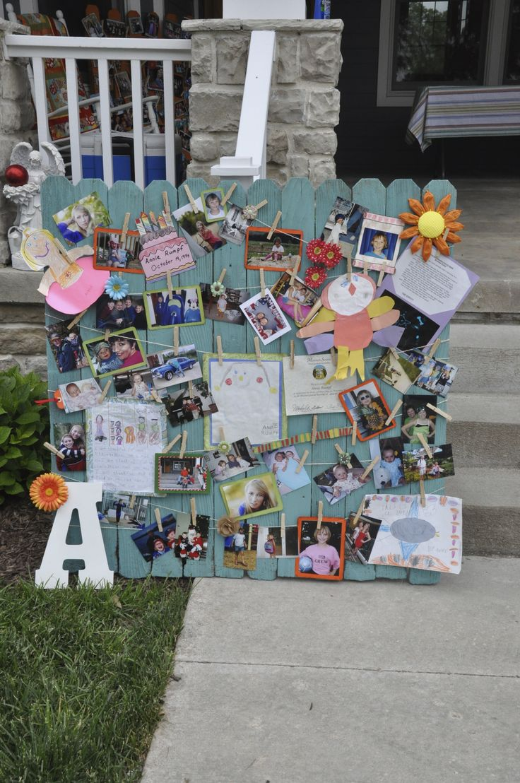 Graduation Memory Board Lovely Idea To Add To This Idea