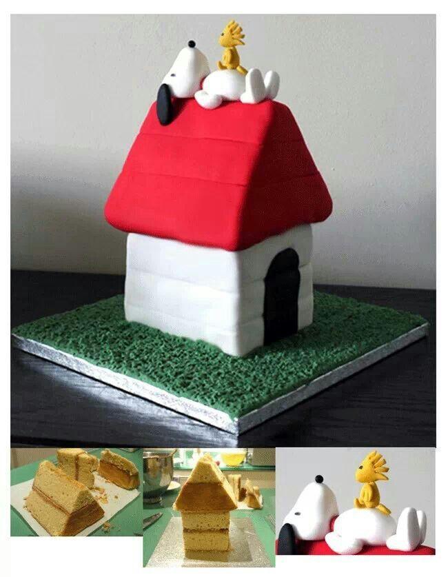 Snoopy Cake Tutorial