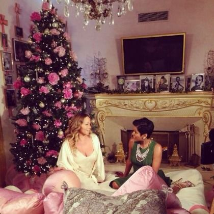 MARIAH CAREY AND HER NEGLIGEE APPEAR ON THE TODAY SHOW FOR AN INTERESTING CHRISTMAS INTERVIEW
