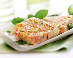 Terrine de légumes au basilic (facile, rapide) - Une recette CuisineAZ