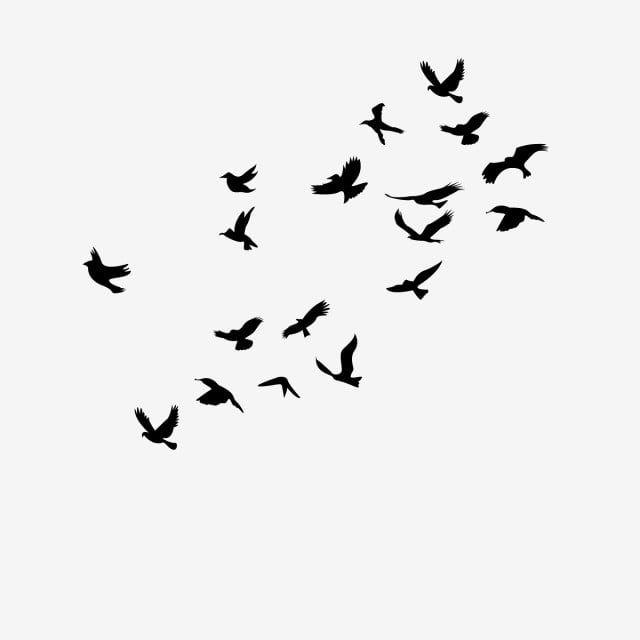 Black Birds Simple Bird Drawing Flying Bird Drawing Bird Drawings