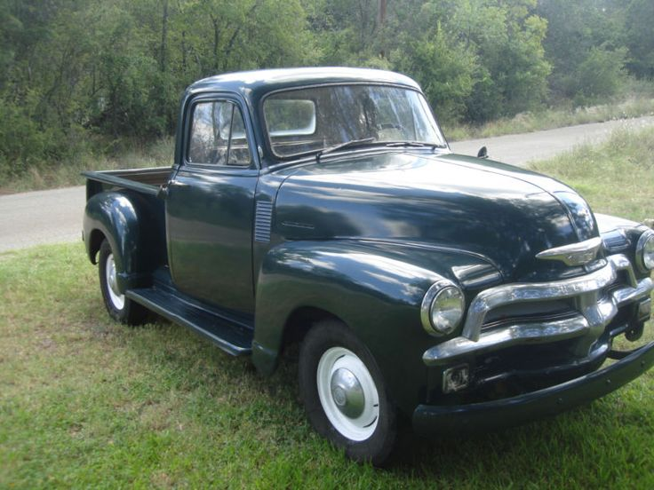 1954 3100 series chevy pick up