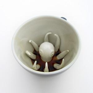 Octopus Creature Cup